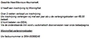 voorbeeld e-mail
